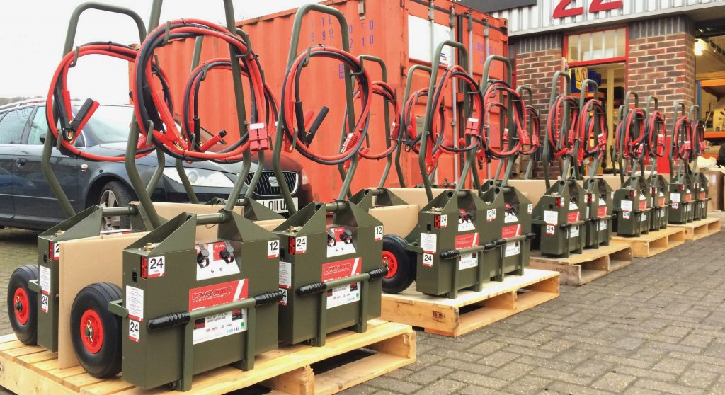 Dutch Military Order For Nato 200 Jump-starters Underlines Powervamp Distributor Lowland Aerospace's Commitment To Full Range